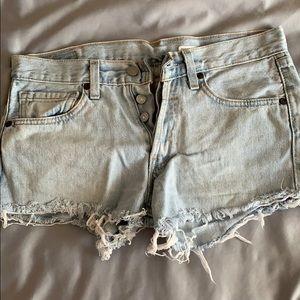 low rise vintage levi shorts